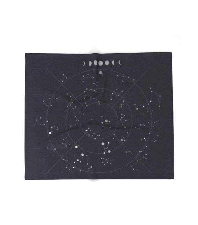 Society6 Constellations Throw Blanket