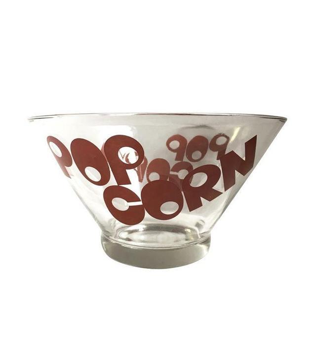 Vintage Mid-Century Popcorn Bowl