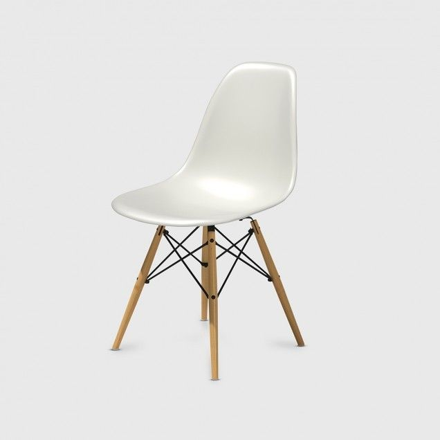 Herman Miller Eames Moulded Plastic Side Chair
