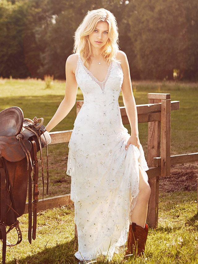 The Jenny Packham Bridal Campaign Is Too Dreamy For Words Whowhatwear Uk