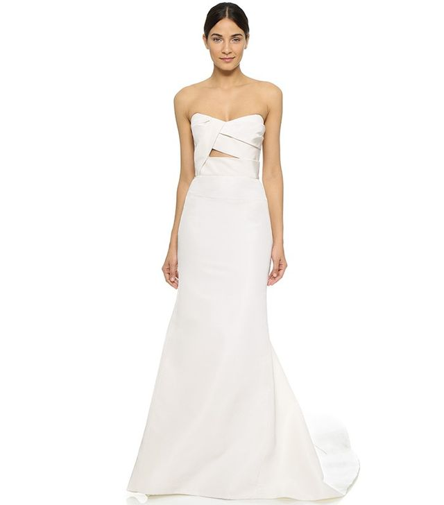 Adelaide Strapless Bustier Gown