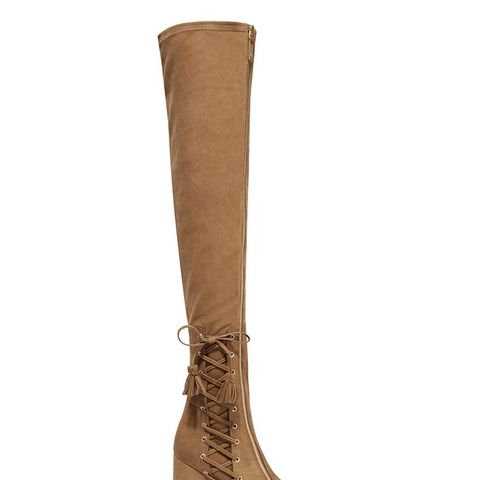 Maran Stretch-Suede Over-the-Knee Boots
