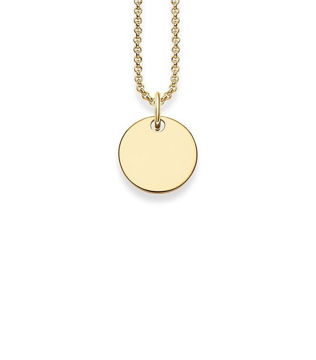 Thomas Sabo Disk Necklace