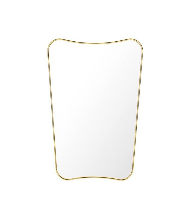 Gubi Ponti Rectangular Wall Mirror