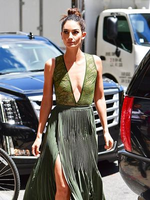 Lily Aldridge's $58 Bodysuit Is Perfect for Going Out