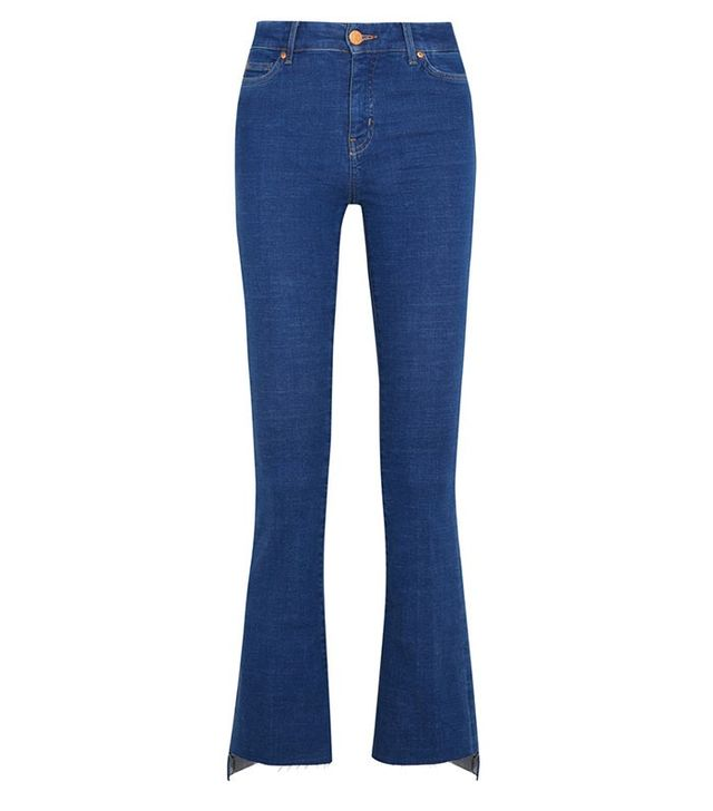 M.i.h Jeans Marrakesh Cropped High-Rise Bootcut Jeans