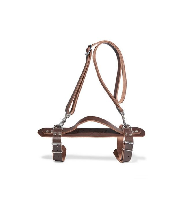The Beach People Harness Leather Towel Carrier