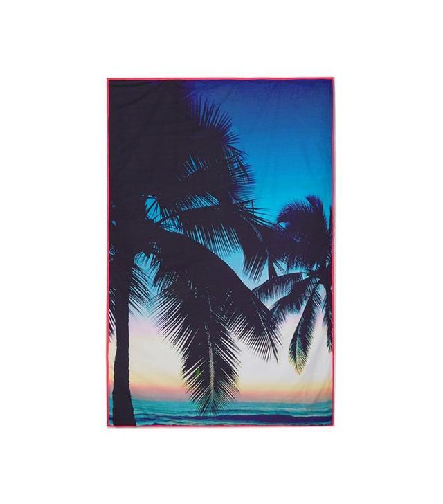 Samudra Makaha Printed Cotton-Poplin Beach Blanket