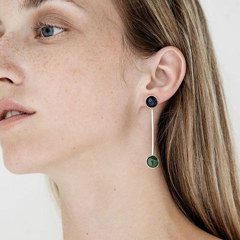 Sway Earring in Jade