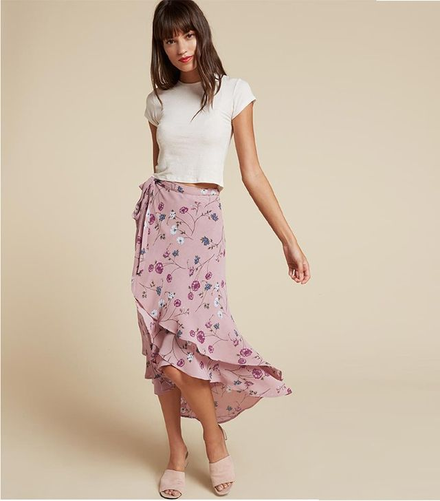 Reformation Saddie Skirt