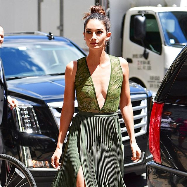 Lily Aldridge's $78 Bodysuit Is Perfect for Going Out