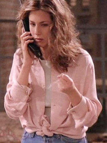 Fashion girls are obsessed with the colour pink, and it's probably because Rachel did it first.