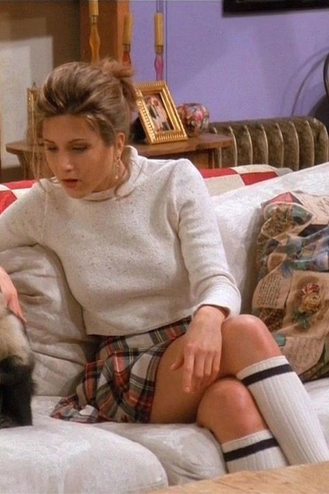 Rachel Green spent alotof time in turtlenecks. And guess what? We can't stop wearing them either.
