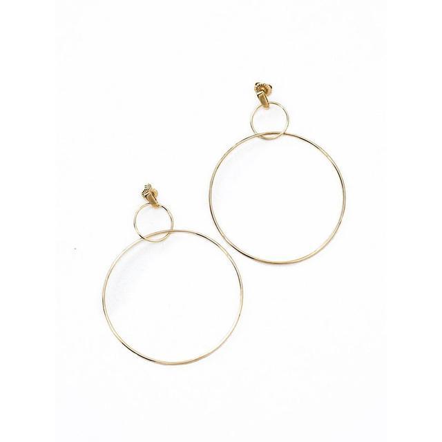 Natasha Schweitzer Double Hoop Earrings