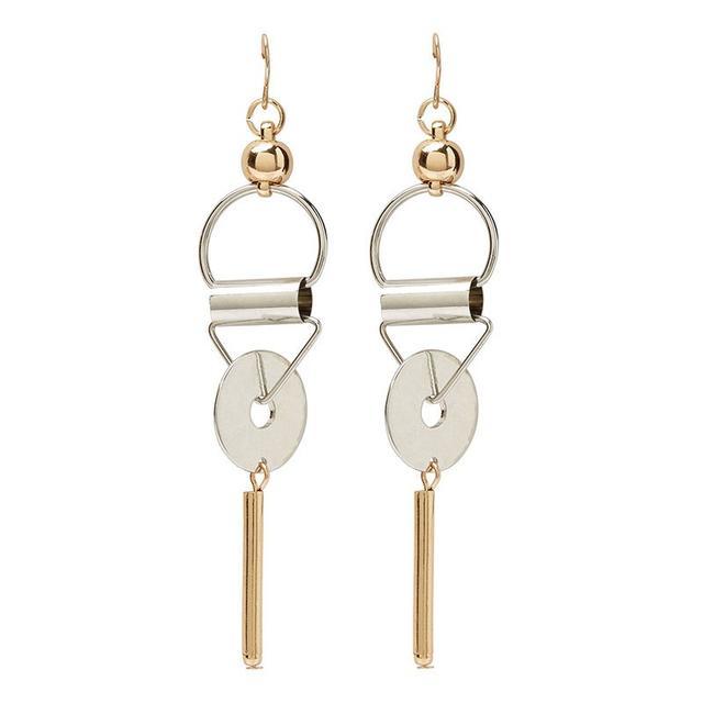 Sportsgirl Geo Dangle Drop Earrings