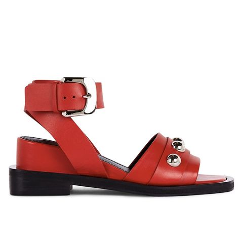 Alice Leather Red