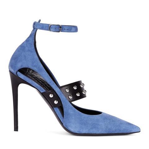 Chrissie Suede Blue