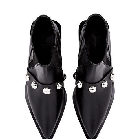 Patti Leather Black