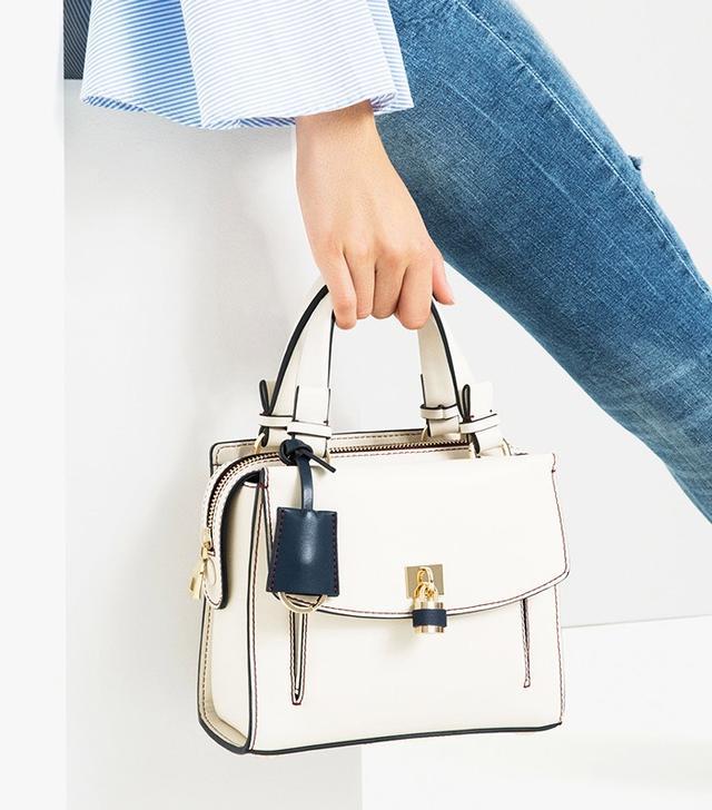 Zara Mini City Bag With Lock