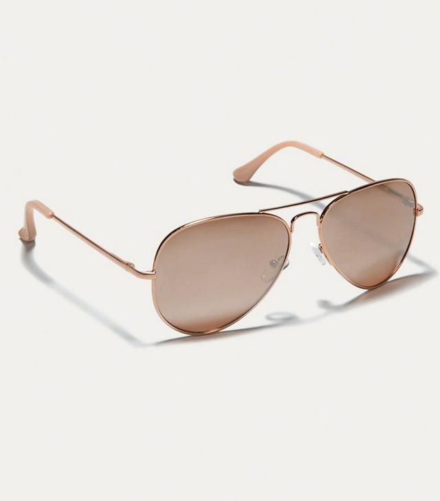 Abercrombie & Fitch Womens Aviator Sunglasses