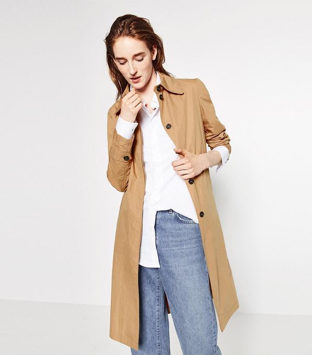 Zara Long Trench Coat