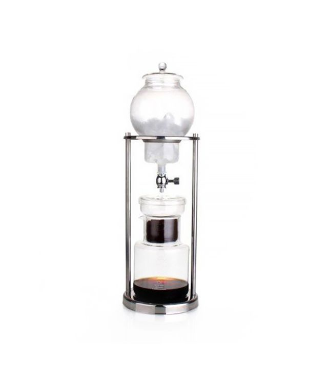 Nispira Luxury Ice Cold Brew Dripper Coffee Maker in Stainless Steel