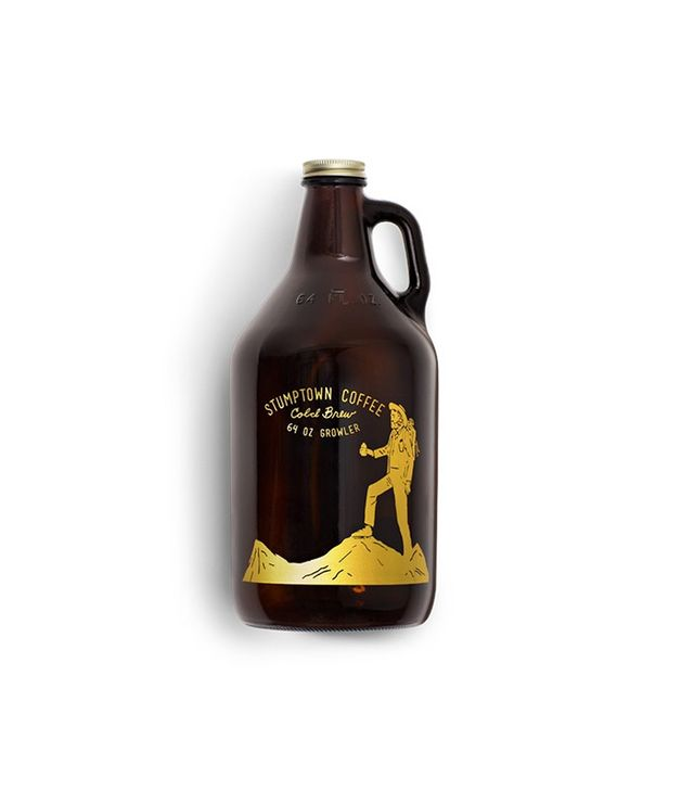 Stumptown 64 oz Cold Brew Glass Growler