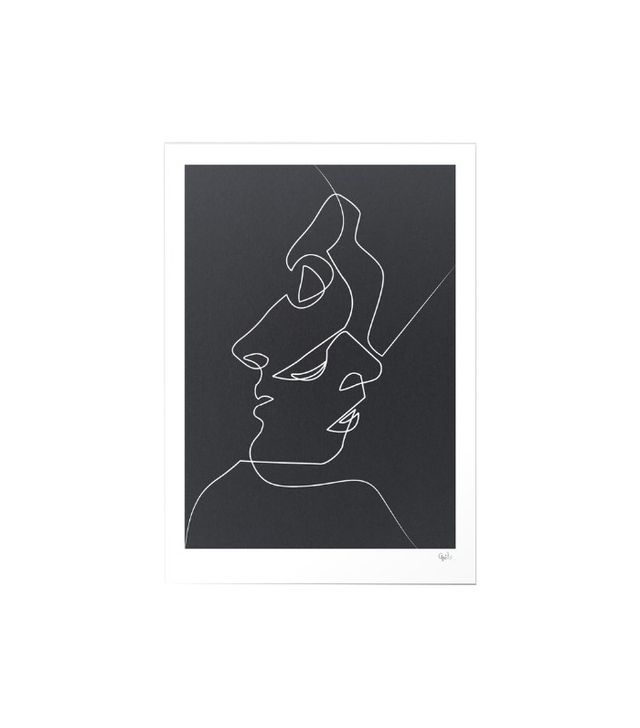 Quibe Close Noir Canvas Print
