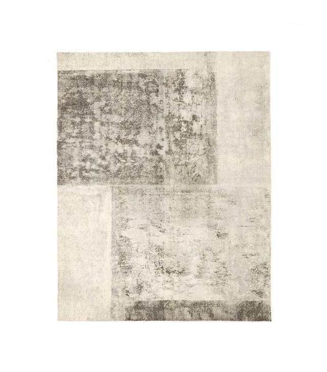 West Elm Distressed Rococo Wool Rug