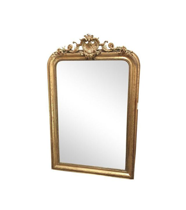 Chairish 24K Gold French Rococo-Style Mirror