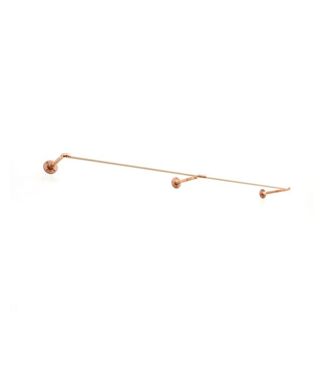 Samichi Design Copper Wall Mount Clothing Rack