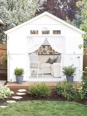 "These Dreamy ""She Sheds"" Will Make You Swoon"