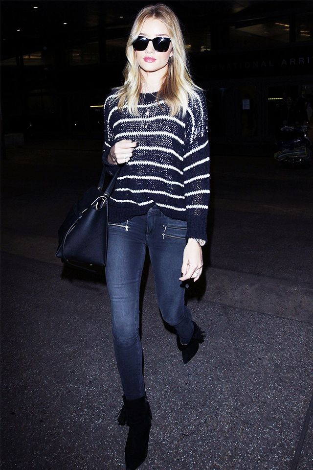 Sweater + Skinny Jeans + Ankle Boots