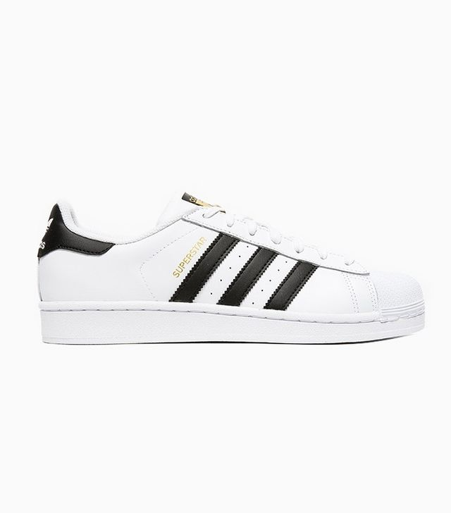 Adidas Superstar Sneakers in White/Black
