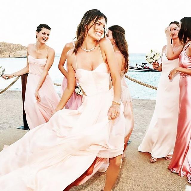 On Alessandra Ambrosio: Maria Lucia Hohan Epona Gown ($2408).