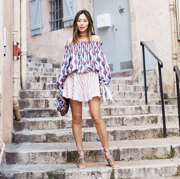 Pair it with mixed prints: