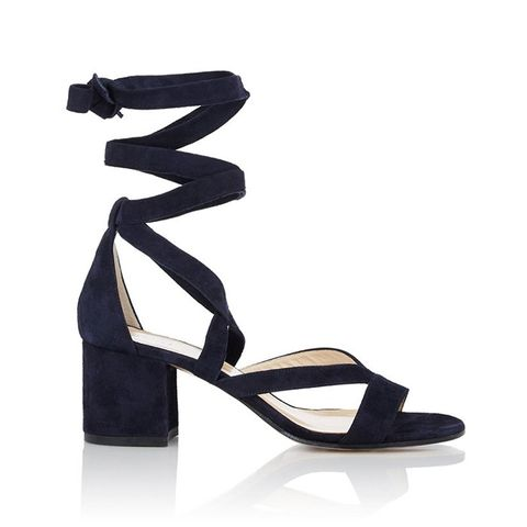 Virginia Ankle-Wrap Sandals