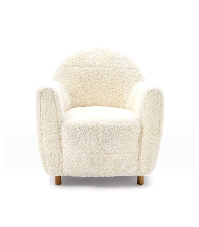 West Elm x Commune Shearling Chair