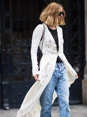 The Street Style Trend That's All Over Paris