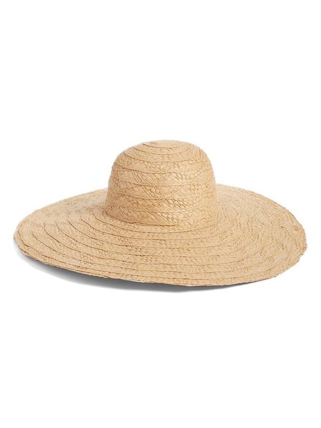 Hinge Floppy Straw Hat