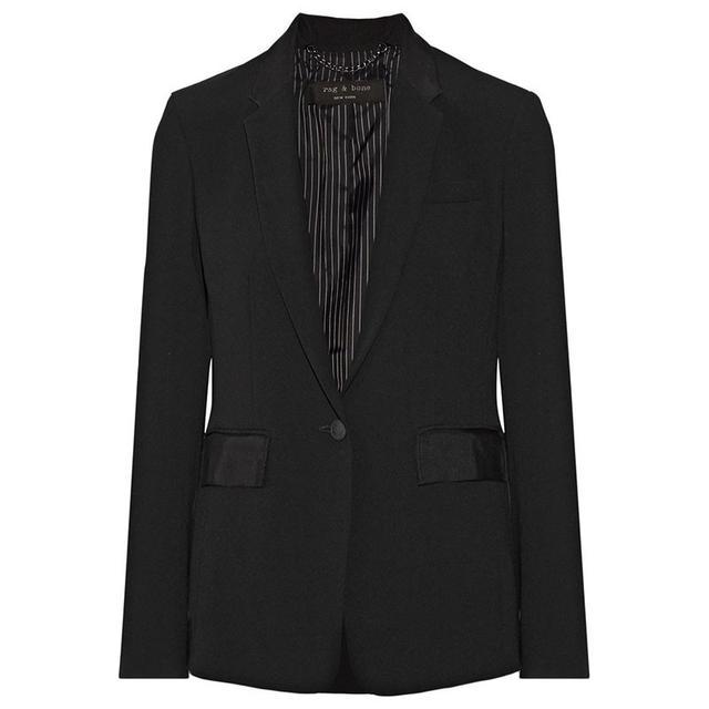 Rag & Bone Windsor Grosgrain Trimmed Jacket