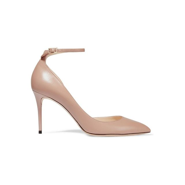 Jimmy Choo Lucy Leather Pumps