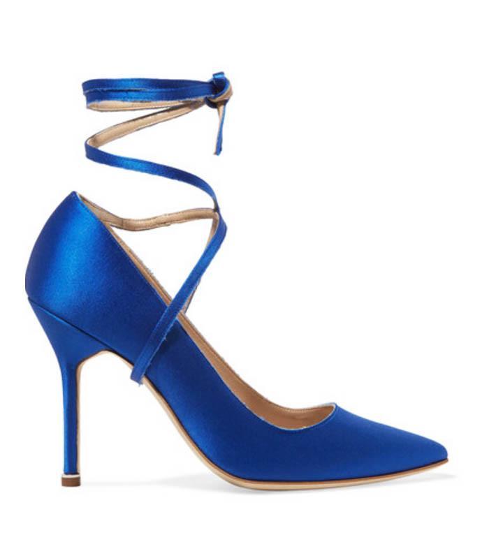 Manolo Blahnik + Vetements shoes