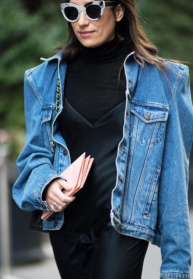 how to wear a denim jacket 2018