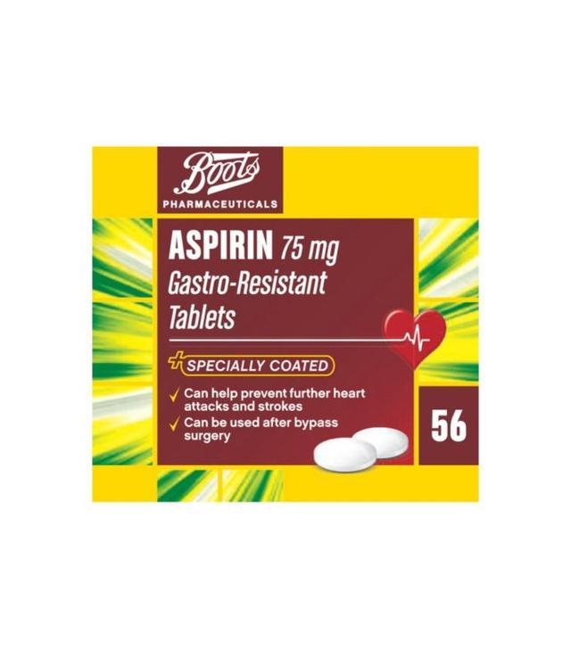 Boots Aspirin 75mg