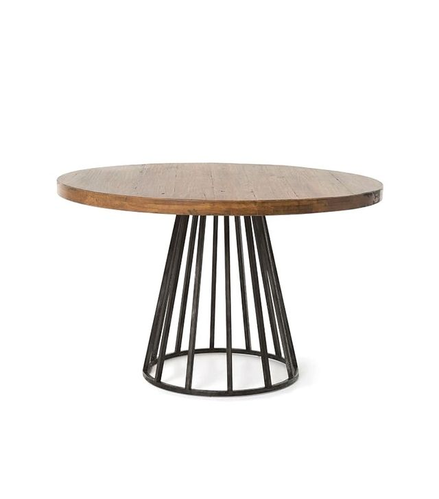 West Elm Copenhagen Reclaimed Wood Round Dining Table