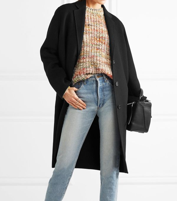 best winter coats: Avalon Doublé Oversized Wool And Cashmere-Blend Coat