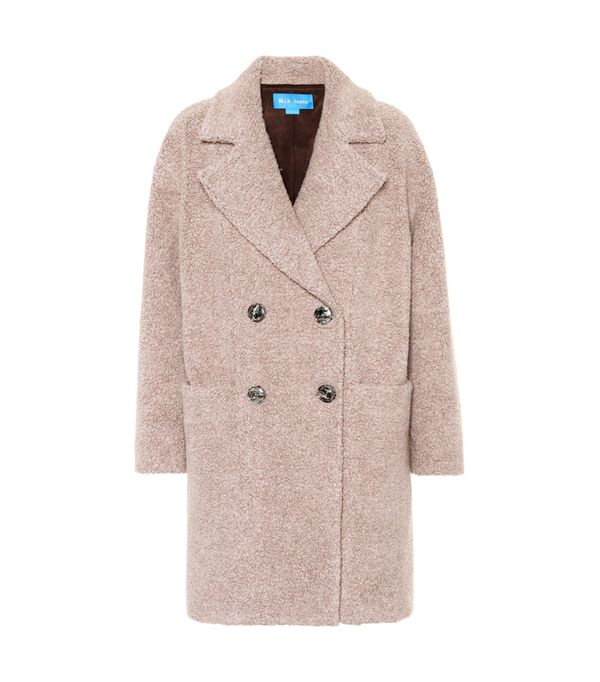 MIH Jeans Pink Ormsby Wool-Blend Coat
