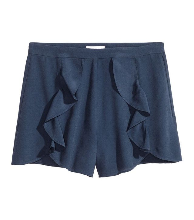 H&M Shorts with Flounces