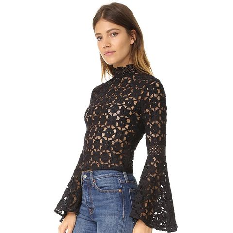 Kiss & Bell Lace Top